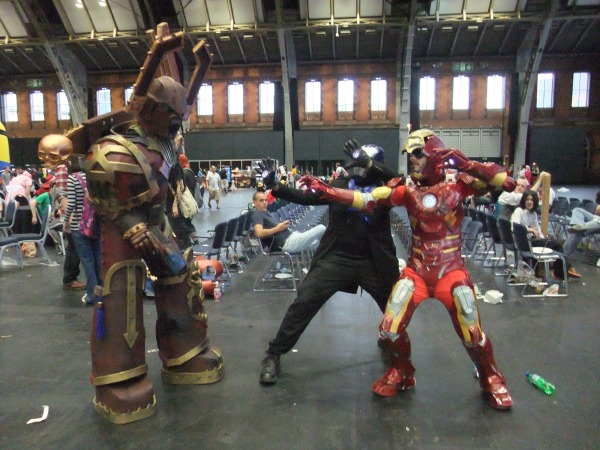 Chaos Marine and Iron Man