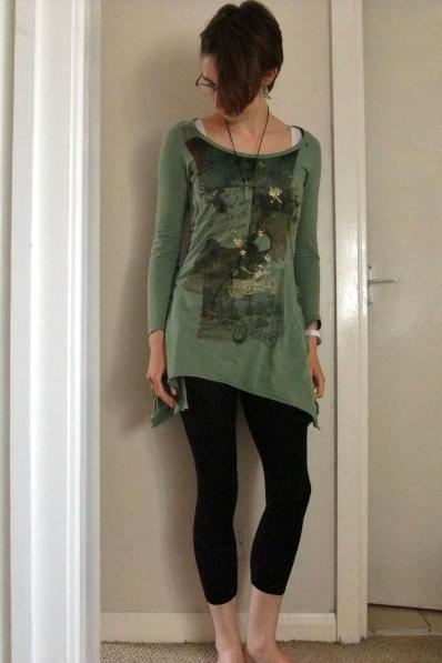 Next green tunic dress