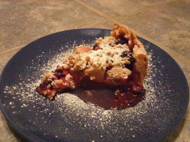 Crumbpie slice