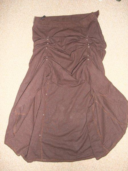 Skirt alterations in progress