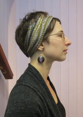 Portrait with headscarf