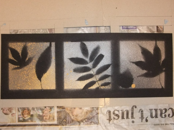 Finished leaf art